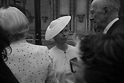 LADY SARAH CHATTO, Service of thanksgiving for  Lord Snowdon, St. Margaret's Westminster. London. 7 April 2017