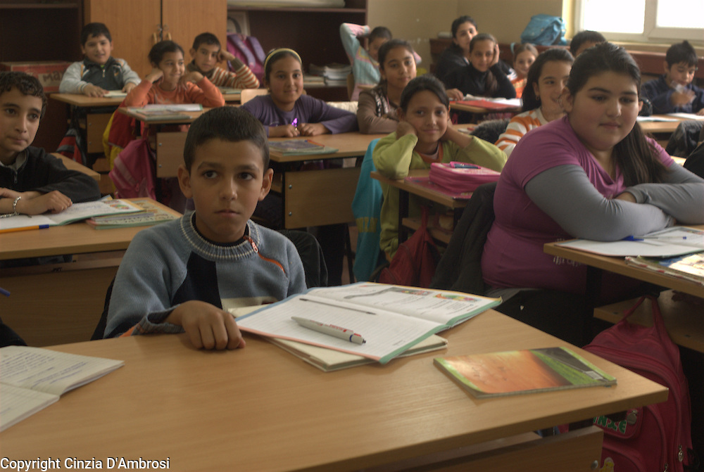 In the Roma gypsy ghetto of Fakulteta in Sofia there is a school where only Roma children go to, hence the name segregated school. This is an ongoing problem because this schools have no access to the level of education given in the remaining schools of Sofia.