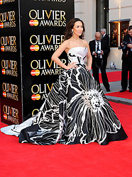 Myleene Class attends The Laurence Olivier Awards at the Royal Opera House, London, United Kingdom. Sunday, 13th April 2014. Picture by i-Images