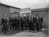 1962 - Sales Representatives at Urney chocolates factory, Tallaght