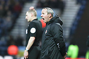 Charlton Athletic manager Lee Bowyer  during the EFL Sky Bet Championship match between Preston North End and Charlton Athletic at Deepdale, Preston, England on 18 January 2020.