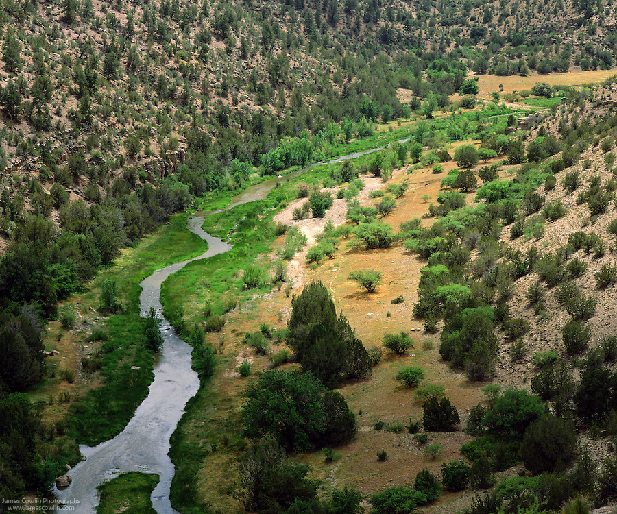 Verde River in central Arizona