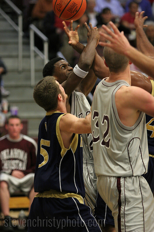 OC Men's Basketball vs Hillsdale Baptist College.November 13, 2006.79-56 win