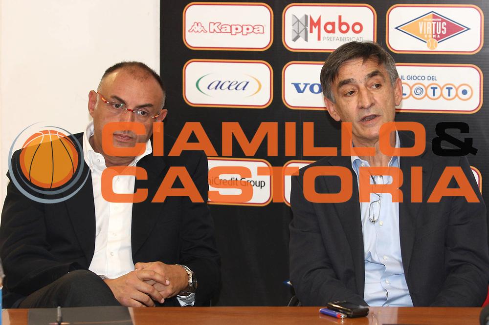DESCRIZIONE : Roma Lega A 2009-10 Conferenza Stampa Presentazione Boscia Tanjevic<br /> GIOCATORE : Boscia Tanjevic Matteo Boniciolli Coach<br /> SQUADRA : <br /> EVENTO : Conferenza Stampa Presentazione Boscia <br /> GARA : 21/06/2010<br /> CATEGORIA : Conferenza Stampa Ritratto<br /> SPORT : Pallacanestro<br /> AUTORE : Agenzia Ciamillo-Castoria/GiulioCiamillo<br /> Galleria : Lega Basket A 2009-2010 <br /> Fotonotizia : Roma Lega A 2009-10 Conferenza Stampa Presentazione Boscia Tanjevic<br /> Predefinita :