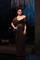 EXCLUSIVE: Priyanka Chopra Jonas at Blenders Pride fashion Tour event in Mumbai, Maharashtra, India. One of the premier fashion events in India, Blenders Pride Fashion Tour concluded in Mumbai on Saturday in a splendid show of some unique couture by leading Indian fashion designers. The hour-long event kickstarted with Hollywood/Bollywood actor Priyanka Chopra Jonas, who is also the brand representative for Blenders Pride, walking the ramp in her sensational style. 22 Feb 2020 Pictured: Priyanka Chopra Jonas at Blenders Pride fashion Tour event in Mumbai, in Maharashtra, India. Photo credit: Newslions Media / MEGA TheMegaAgency.com +1 888 505 6342