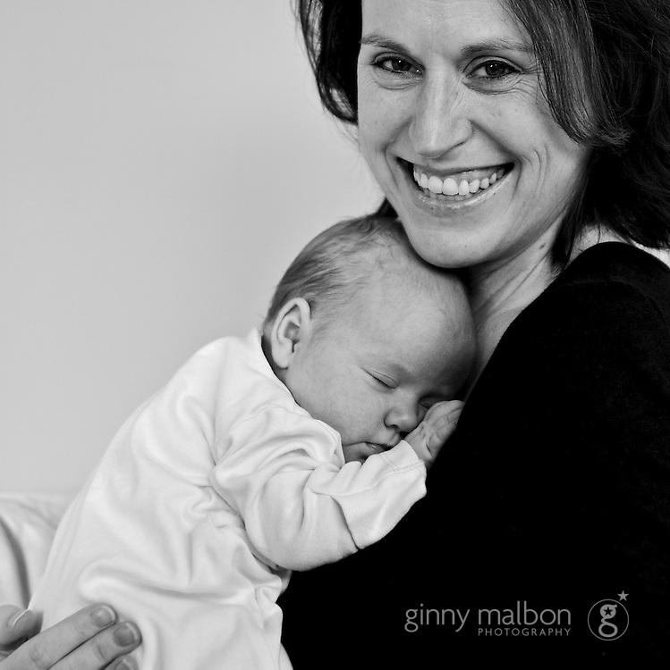 Newborn on location photography by Ginny Malbon