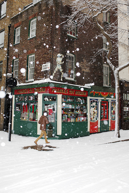 Pollock's Toy Museum is a small museum in London, England. It was started in 1956 in a single attic room at 44 Monmouth Street, near Covent Garden, above Benjamin Pollock's Toy Shop, where Pollock's Toy Theatres were also sold.