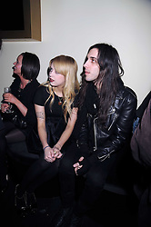 PEACHES GELDOF and BLAKE WOOD at the opening of the Atelier Moet pop-up boutique, 70 New Bond Street, London on 3rd December 2008.