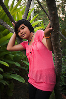 Tukata, age 16, is born with HIV..She lives together with other HIV Teenager and children in a village near Lopburi..