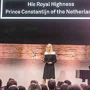 NLD/Amsterdam/20180412 - Prins Constantijn en Prinses Laurentien aanwezig bij uitreiking World Press Photo of the Year, Dionne Stax