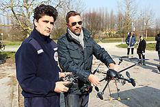 20130219 ELICOTTERO DRONE RADIOCOMANDATO POLIZIA