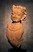Hindu Celestial being (vidyadhara?) 11th century sandstone sculpture from Madhya Pradesh, India