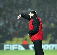 Photo: Mark Stephenson/Richard Lane Photography.<br /> Watford v Charlton Althetic. Coca Cola Championship. 19/01/2008. Watford's manager Aidy Bothyord gives his orders