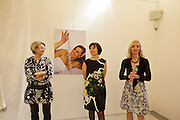 "Opening of the exhibition ""Brautschau"" with bridal jewelry by designer Hermine Pruegger, Marimekko textiles arranged by Susanna Ahvonen and photographs by Heimo Aga."