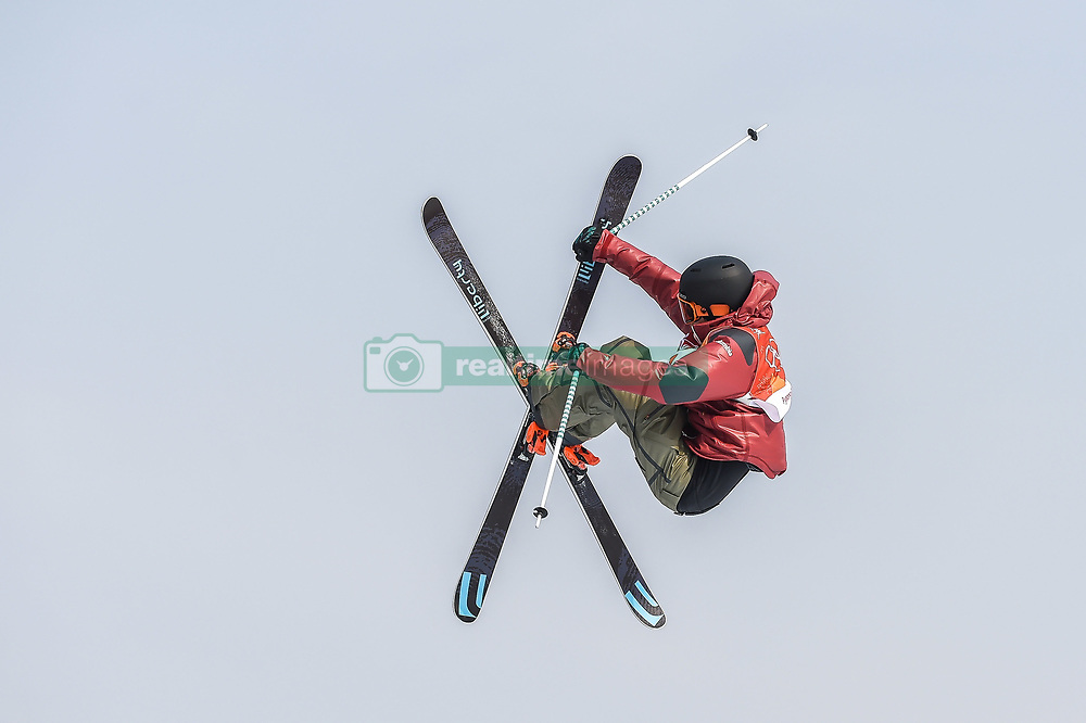 February 18, 2018 - Pyeongchang, Gangwon, South Korea - Teal Harle of  Canada competing in slope style for men at phoenix park, Pyeongchang,  South Korea on Febuary 18, 2019. (Credit Image: © Ulrik Pedersen/NurPhoto via ZUMA Press)