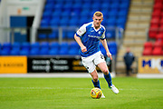 St Johnstone defender Brian Easton (#24) drives the ball forwards during the Betfred Scottish Cup match between St Johnstone and Partick Thistle at McDiarmid Stadium, Perth, Scotland on 8 August 2017. Photo by Craig Doyle.