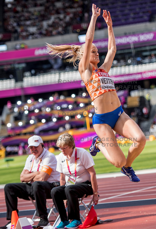 06-08-2017 IAAF World Championships Athletics day 3, London<br /> Anouk Vetter NED (zevenkamp)