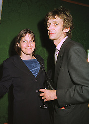 LADY ANNE & MR MATHEW CARR, at an exhibition in London on 11th November 1998.MLW 32