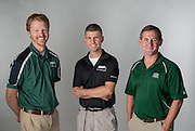 Ohio University Patton College of Education faculty (Left to Right) Danny Twilley, Andrew Szolosi, Bruce Martin.