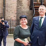 NLD/Den Haag/20190917 - Prinsjesdag 2019, Ank Bijleveld en partner Riekele Bijleveld