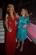 Cat Deeley and Edith Bowman. Glamour Women Of The Year Awards 2005, Berkeley Square, London.  June 7 2005. ONE TIME USE ONLY - DO NOT ARCHIVE  © Copyright Photograph by Dafydd Jones 66 Stockwell Park Rd. London SW9 0DA Tel 020 7733 0108 www.dafjones.com