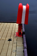 USA, Idaho, McCall, A Poop Pump (waste disposal pump for boats)