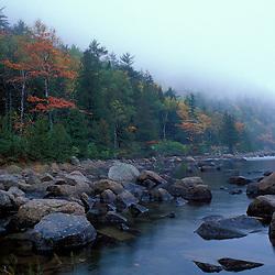 Acadia N.P., ME. New England Fall Bubble Pond