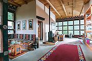 Bhutan, Paro, Zhiwa Ling Hotel, Tea House
