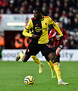 Abdoulaye Doucoure (16) of Watford during the Premier League match between Bournemouth and Watford at the Vitality Stadium, Bournemouth, England on 12 January 2020.
