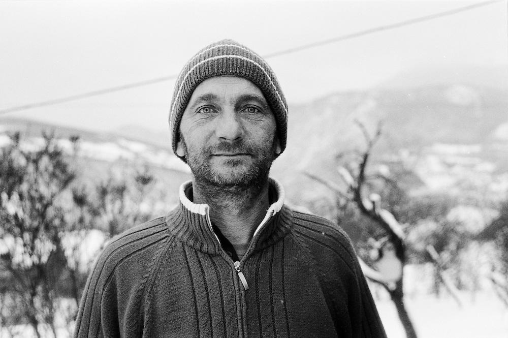 Salih (Borac) Tutnic, Former fighter for the Republic of Bosnia & Herzegovina army, Sarajevo, Bosnia
