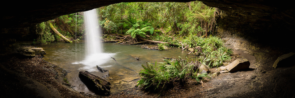 Lower Kalimna Falls and Sheoak Creek, near Lorne, Victoria, Australia