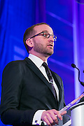 HRC President Chad Griffin speaking at the HRC's Greater NY Gala 2014 held at the Waldorf=Astoria in New York City on Saturday, February 8, 2014. (Photo: JeffreyHolmes.com)