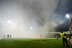 Stadium during football match between NK Maribor and NK Olimpija Ljubljana in 14th Round of Prva liga Telekom Slovenije 2018/19, on October 27, 2018 in Ljudski vrt , Maribor, Slovenia. Photo by Mario Horvat / Sportida