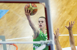 Klemen Prepelic of Slovenia during basketball match between National teams of Turkey and Slovenia in Qualifying Round of U20 Men European Championship Slovenia 2012, on July 17, 2012 in Domzale, Slovenia. Slovenia defeated Turkey 72-71 in last second of the game. (Photo by Vid Ponikvar / Sportida.com)