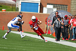 17 September 2016:  Jake Kolbe. NCAA FCS Football game between Eastern Illinois Panthers and Illinois State Redbirds for the 105th Mid-America Classic on Family Dat at Hancock Stadium in Normal IL (Photo by Alan Look)
