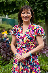 © licensed to London News Pictures. LONDON, UK  23/05/2011. Chelsea Flower Show 2011, Press Day. Lorraine Kelly. Please see special instructions for usage rates. Photo credit should read Bettina Strenske/LNP