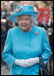 May 23, 2019 - London, London, United Kingdom - Image licensed to i-Images Picture Agency. 23/05/2019. London, United Kingdom. The Queen leaving  a visit to the headquarters of British Airways, Heathrow, United Kingdom, to mark their centenary year. (Credit Image: © Stephen Lock/i-Images via ZUMA Press)