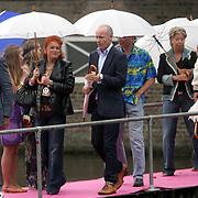NLD/Amsterdam/20080907 - Gasten van het huwelijksfeest Nina Brink en Pieter Storms, Mart Visser