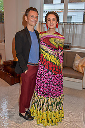 Matthew Williamson and Rosanna Falconer at the Belmond Cadogan Hotel Grand Opening, Sloane Street, London England. 16 May 2019. <br /> <br /> ***For fees please contact us prior to publication***