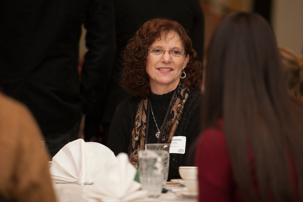 Susan Fletcher at the Learning Community Programs Awards Banquet in Baker Ballroom on Sunday, Jan. 24, 2016. ©Ohio University/ Photo by Kaitlin Owens