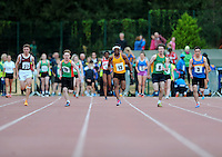 21 Aug 2016:  Boys U16 100m Final. 2016 Community Games National Festival 2016.  Athlone Institute of Technology, Athlone, Co. Westmeath. Picture: Caroline Quinn