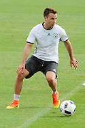 Mario Goetze of Germany during training at Stadio Communale, Ascona<br /> Picture by EXPA Pictures/Focus Images Ltd 07814482222<br /> 31/05/2016<br /> ***UK &amp; IRELAND ONLY***<br /> EXPA-EIB-160531-0044.jpg