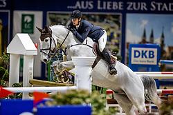BETZ Niklas (GER), Contan<br /> Preis der Familie Müter <br /> Deutschlands U25 Springpokal der Stiftung Deutscher Spitzenpferdesport<br /> Nat. Springprüfung Kl. S**<br /> Braunschweig - Classico 2020<br /> 06.03.20<br /> © www.sportfotos-lafrentz.de/Stefan Lafrentz