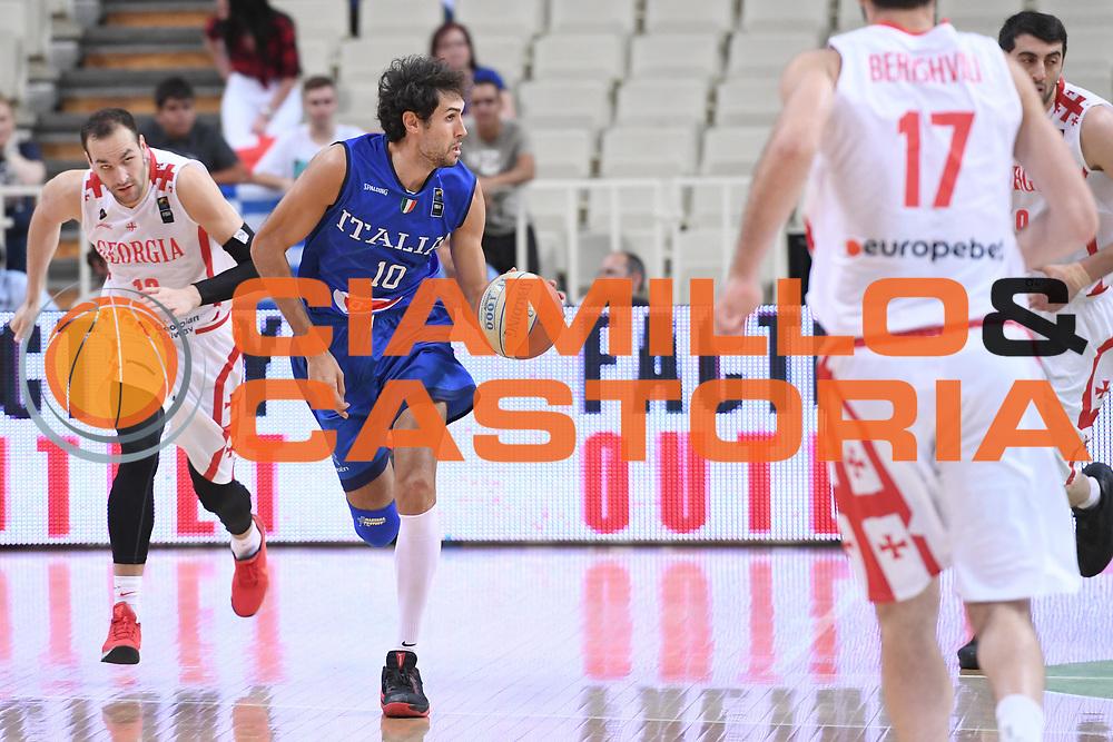 Davide Pascolo<br /> Nazionale Italiana Maschile Senior<br /> Torneo dell Acropolis<br /> Italia Georgia Italy Georgia<br /> FIP 2017<br /> Atene, 25/08/2017<br /> Foto M.Ceretti / Ciamillo - Castoria