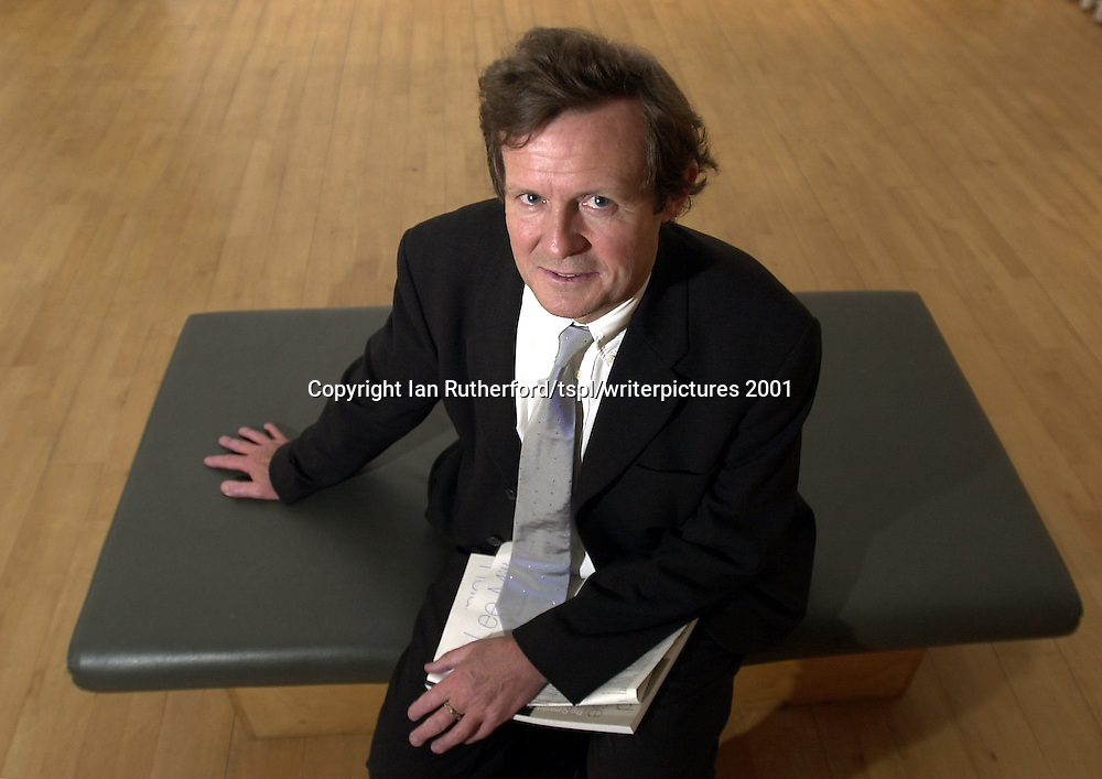Sir David Hare, photographed in 2001<br />