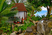 Garden Island Resort, Taveuni, Fiji; Melanesia; South Pacific