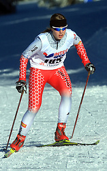 Slovenian cross-country skier Anja Erzen at 10th OPA - Continental Cup 2008-2009, on January 17, 2009, in Rogla, Slovenia.  (Photo by Vid Ponikvar / Sportida)
