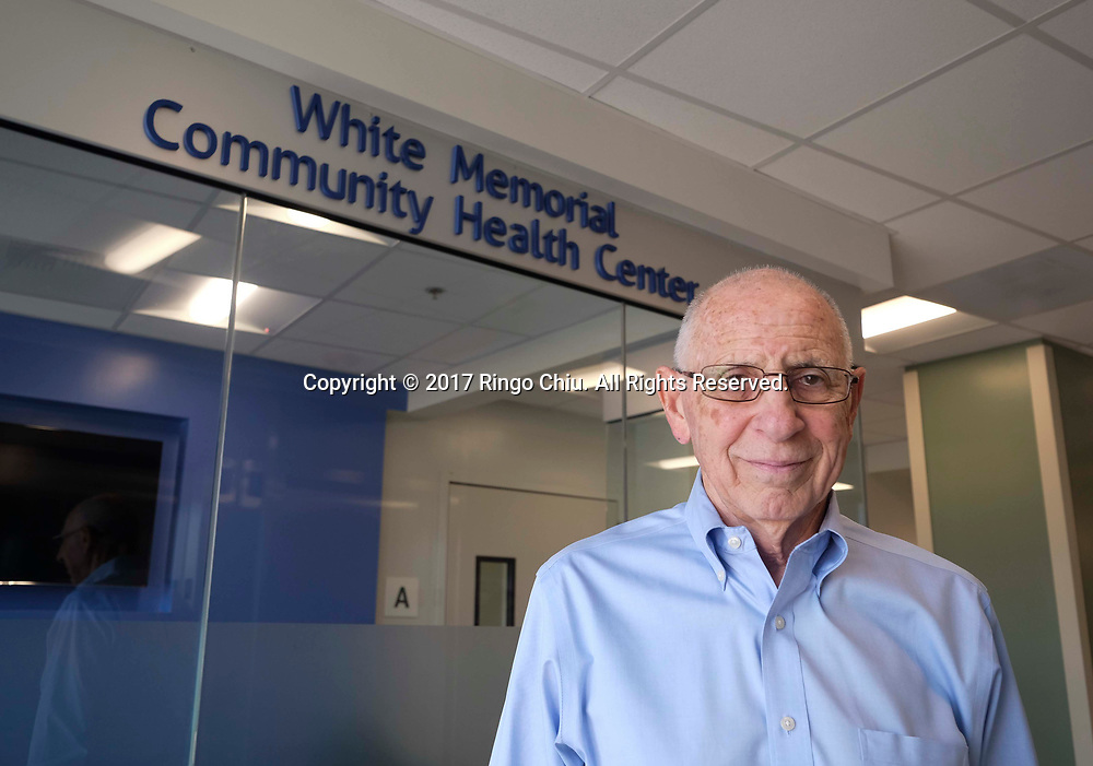 Carl E. Coan, CEO, White Memorial Community Health Center.(Photo by Ringo Chiu)<br /> <br /> Usage Notes: This content is intended for editorial use only. For other uses, additional clearances may be required.
