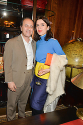 PROSPER ASSOULINE and LARA BOHINC at the launch of new book 'Farfetch Curates: Food' at Maison Assouline, Piccadilly, London on 24th March 2015.