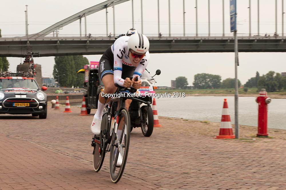 28-08-2018: Wielrennen: Ladies Tour: Arnhem<br /> Ellen van Dijk wordt derde in de proloog Boels Ladies Tour